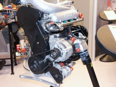 Audi Formula Palmer 275bhp Turbo Engine: click to zoom picture.