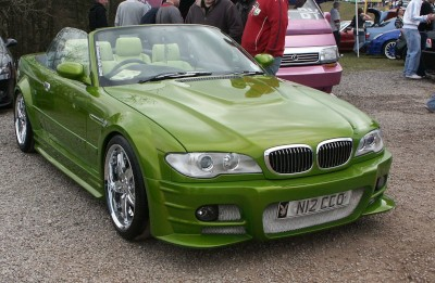 BMW Convertible Car