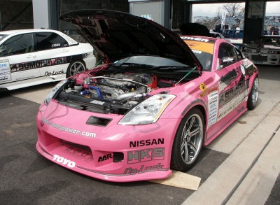 Nissan 350Z Drift Car: click to zoom picture.