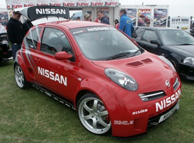 Nissan Micra Tuned: click to zoom picture.