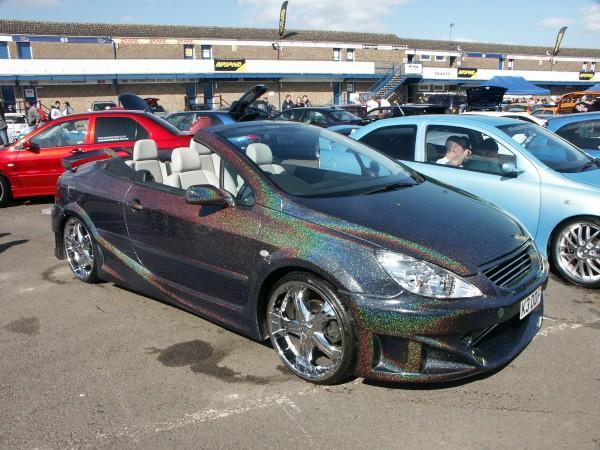 Peugeot 307 Cc Rainbow Paint Front Picture