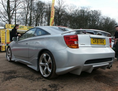 Toyota Celica Generation 7 Rear: click to zoom picture.