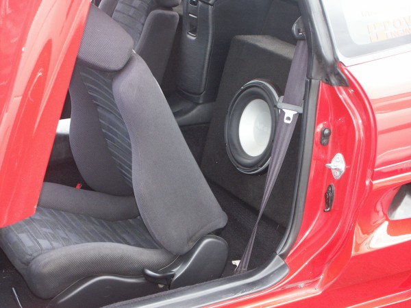 Toyota Mr2 Subwoofer Picture