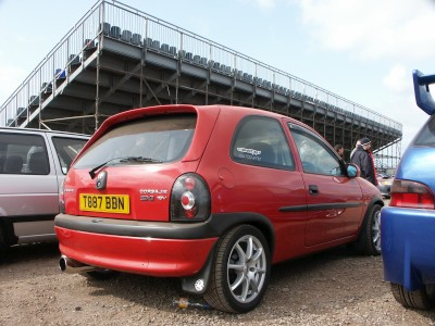 Vauxhall Corsa: click to zoom picture.